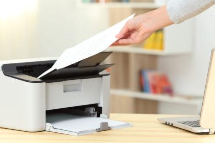 Impresora en casa